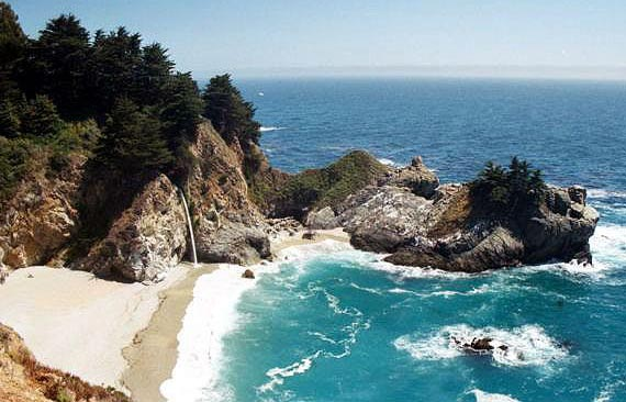 Julia Pfeiffer Burns State Park - Foto: Stan Russell - Big Sur Chamber of Commerce