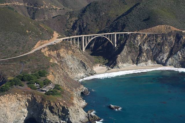 Bixby Bridge © Kenneth & Gabrielle Adelman - California Coastal Records Project