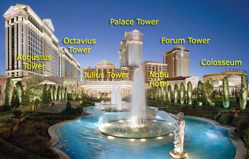 Caesars Palace Towers