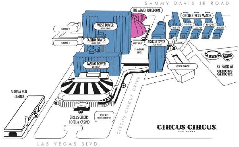 Circus Circus Hotel Amp Casino Las Vegas Reisef 252 Hrer