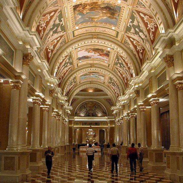 Hotel Venetian Lobby