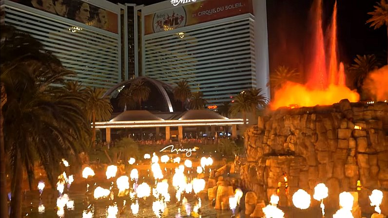 Mirage Vulkan Las Vegas