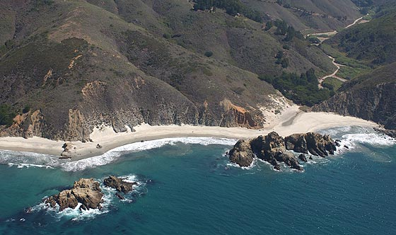 Pfeiffer Beach © Kenneth & Gabrielle Adelman - California Coastal Records Project