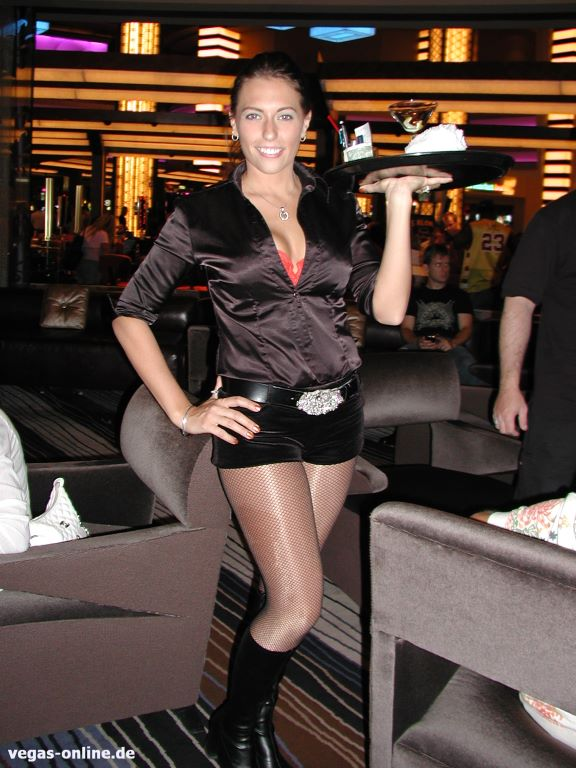 Cocktail Waitress Planet Hollywood