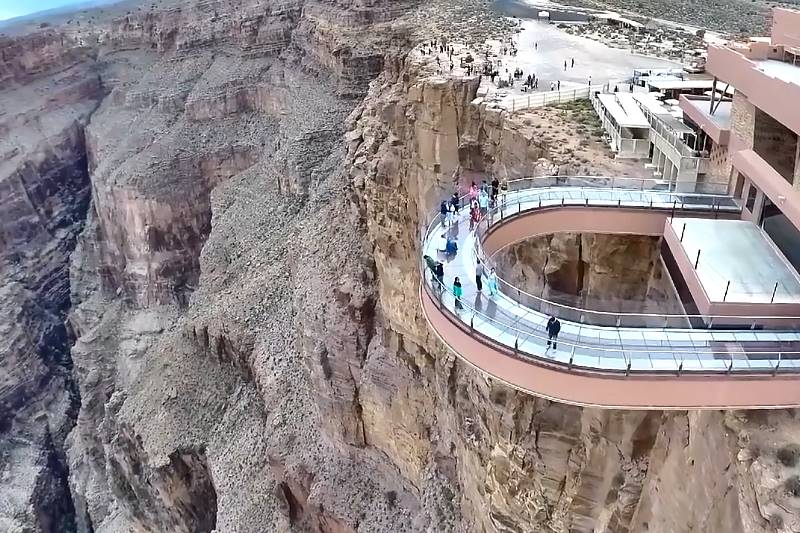 Grand Canyon Skywalk Grand Canyon Touren Ab Las Vegas