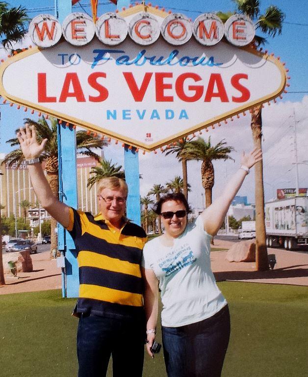 Bernd & Silke Las Vegas Sign