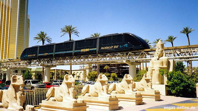 Luxor Excalibur Tram