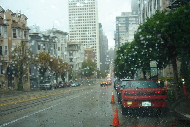 San Francisco im Regen