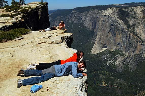 Yosemite National Park Anfahrt Aussichtspunkte