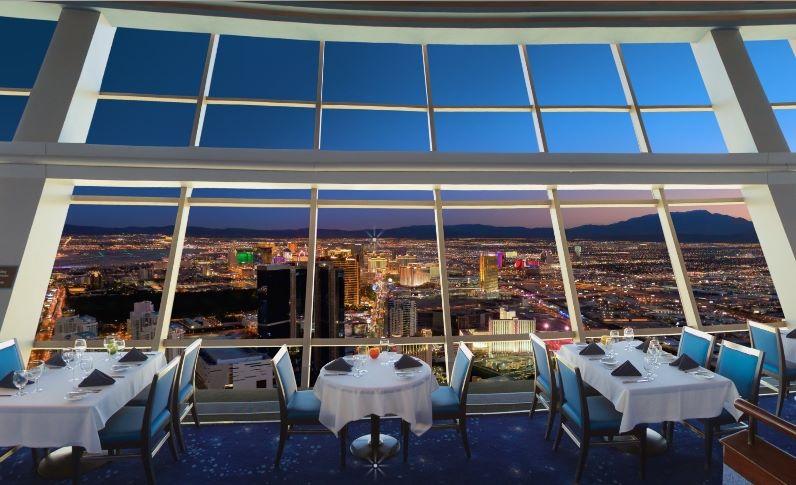 Stratosphere Top Of The World Restaurant Menu