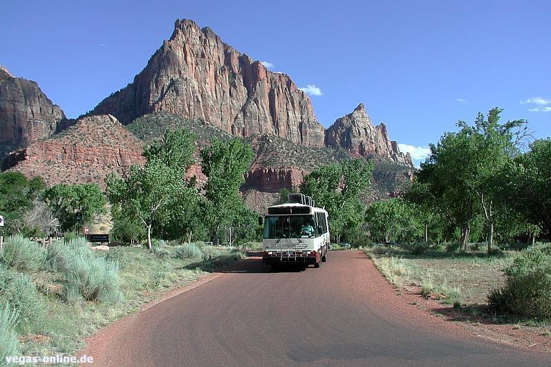 Zion Nationalpark Shuttle